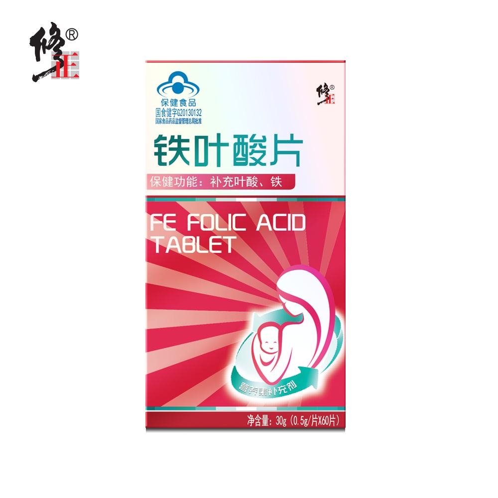 Коррекция Таблетки фолиевой кислоты 0,5 г / таблетка * 60 таблеток