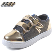 New fashionable canvas shoes children's shoes cuhk children girls boy children cloth shoes silver boots shoes toddlers