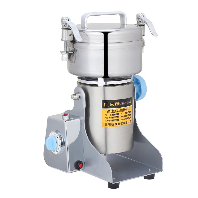 巨宏鋒250 gロッキング粉砕機五谷研粉機商用小型打粉機超微細研磨機