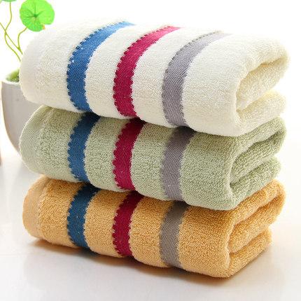 创彩品牌纯棉毛巾33*73cm三条装券后12.8元包邮【送运费险】