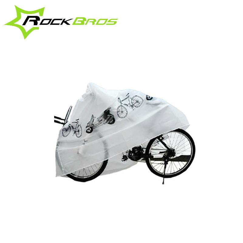 ROCKBROS шоссе гора велосипед электромобиль противо-дождевой пыленепроницаемый солнцезащитный крем капот автомобиля одиночная машина оборудование пончо монтаж