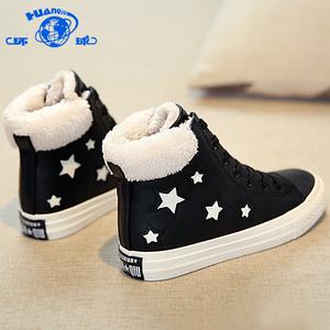 环球冬季女鞋新款短...