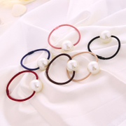 Know NI the Korean version of the new hair jewelry Korean style hot selling simple small circle Pearl hair hair hair band flower head band