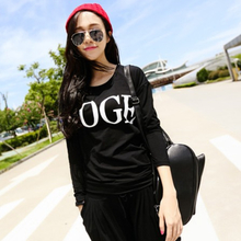Han edition age season women pajamas women Long sleeve plus-size outside the spring and autumn period and the model of cotton qualitative can wear suits household to take