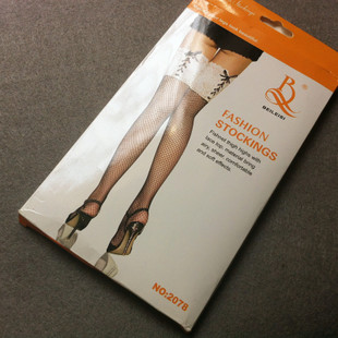 Japan leg series mesh lace straps knee socks high socks 2 color