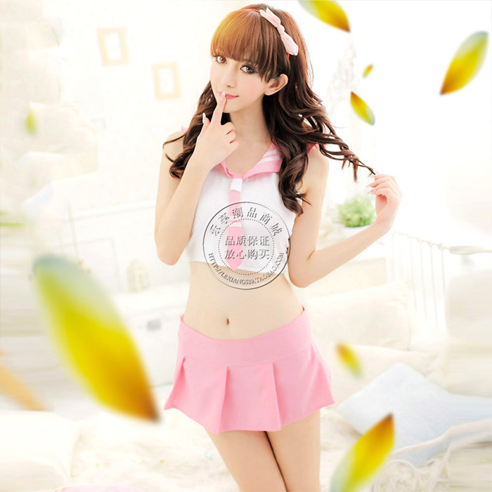 Novelty & Special Use Sexy Women Lingerie Hot Hollow Long Sleeves Gauze Skirt Fishnet Sex Toys Cosplay Uniforms Lingerie Dress Sex Play Exotic Apparel