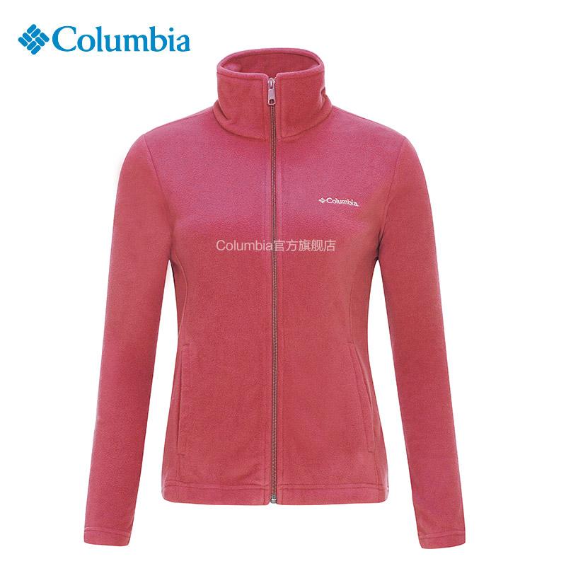 ~ 款~Columbia 哥倫比亞戶外女 修身立領抓絨衣 AR6509