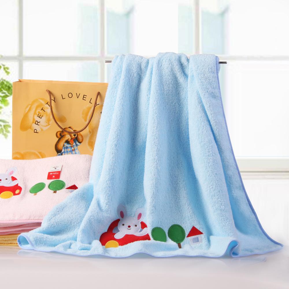 Золото хлопок полотенца/дети/по/прохладно летом и кондиционирования воздуха изготовлены из вышитые вышитые ткани пояса Подарочная коробка