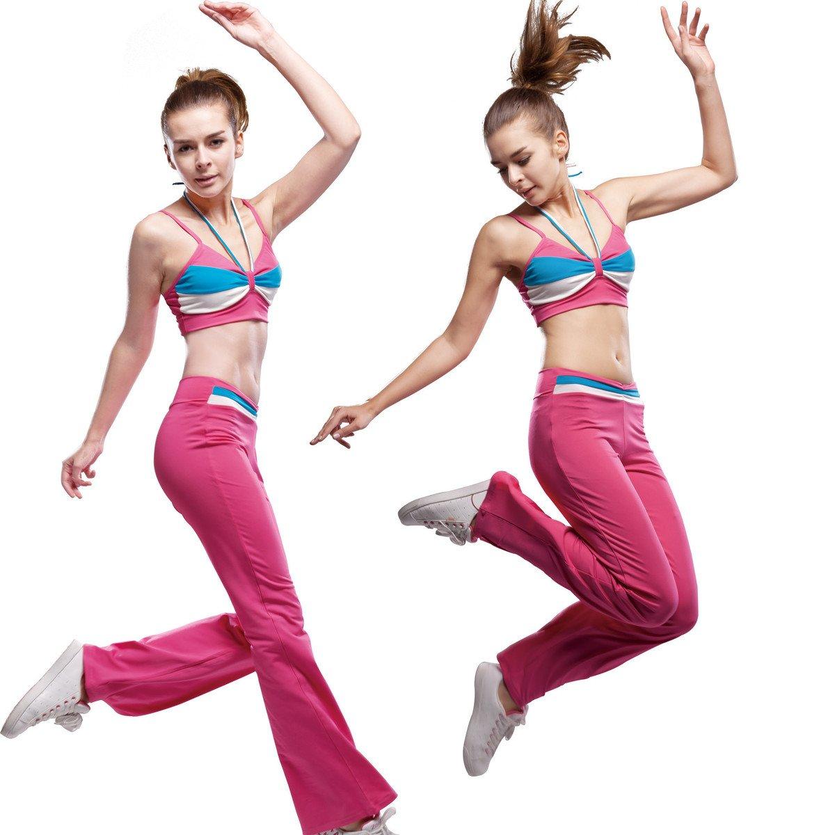 Зазор фитнес одежда перейти упражнение одежда дорога ирак брахма перейти шаг женская одежда лето модель танец костюм 21124