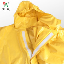 Test for protective clothing of chemical clothing plant for anti-liquid ammonia light semi-enclosed acid and alkali prevention suit