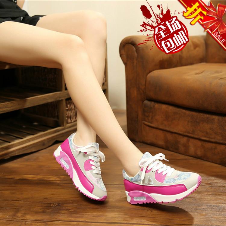 Весна и осень новая платформа 15-камуфляж Harajuku Мягкая спортивная обувь и обувь для отдыха для запуска корейской версии низкой вырезать моды обувь