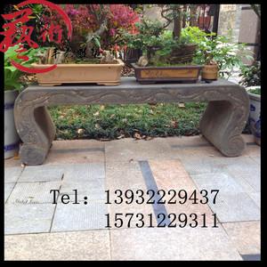 仿古石雕石凳子庭院石桌石凳圆桌子庭院户外摆件欧式石桌曲阳石雕