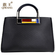 Flag King leather handbags-fall 2015 Europe Ms fashion women bag handbag bag shoulder bag