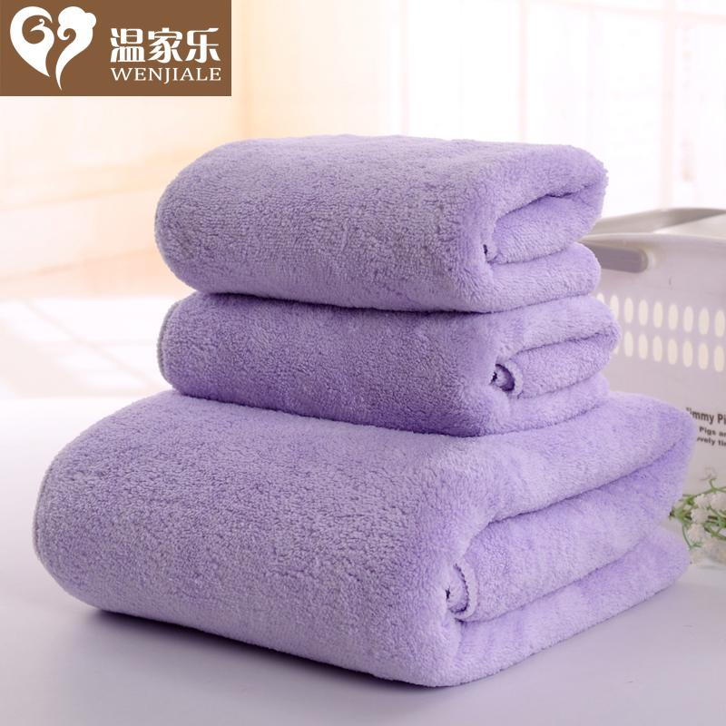【1 полотенце +2 полотенце 】 температура домой музыка волосы полотенце коралл ультратонкое волокно мягкий абсорбент сгущаться для взрослых
