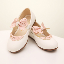 In the summer of 2015 the new female small shoes han edition size girls shoes lace shoes children dance school performance