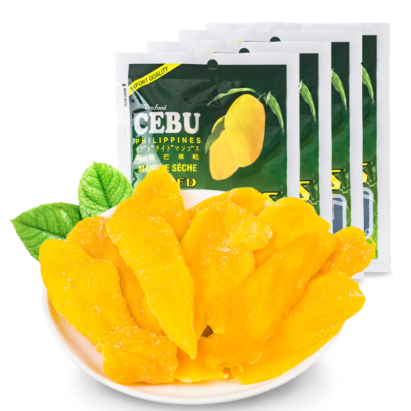 Cebu _ dried mango 100g*5 package Philippines imported snacks cied dried fruit flavor