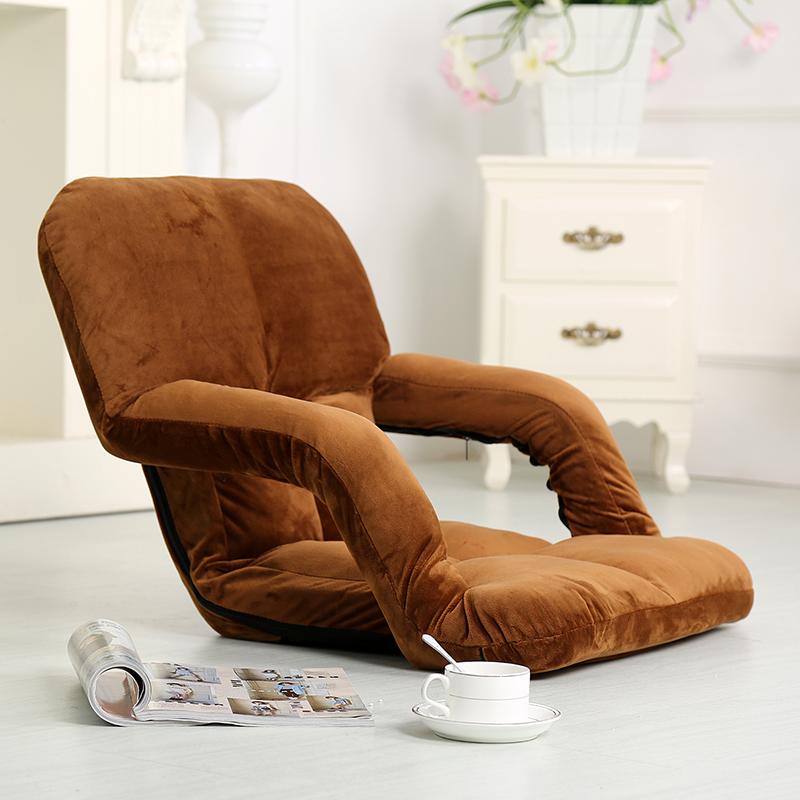 懒人沙发创意单人榻榻米椅床上椅折叠靠背椅儿童成人小沙发椅