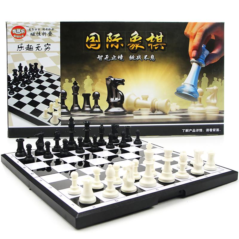 Шахматы странный шахматы музыка группа сложить шахматная доска магнитный кусок студент ребенок головоломка шахматы серия