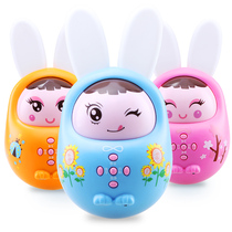 Baby Childrens early Education storytelling machine rechargeable download mp3 Baby puzzle can 0-6 year old tumbler music toys