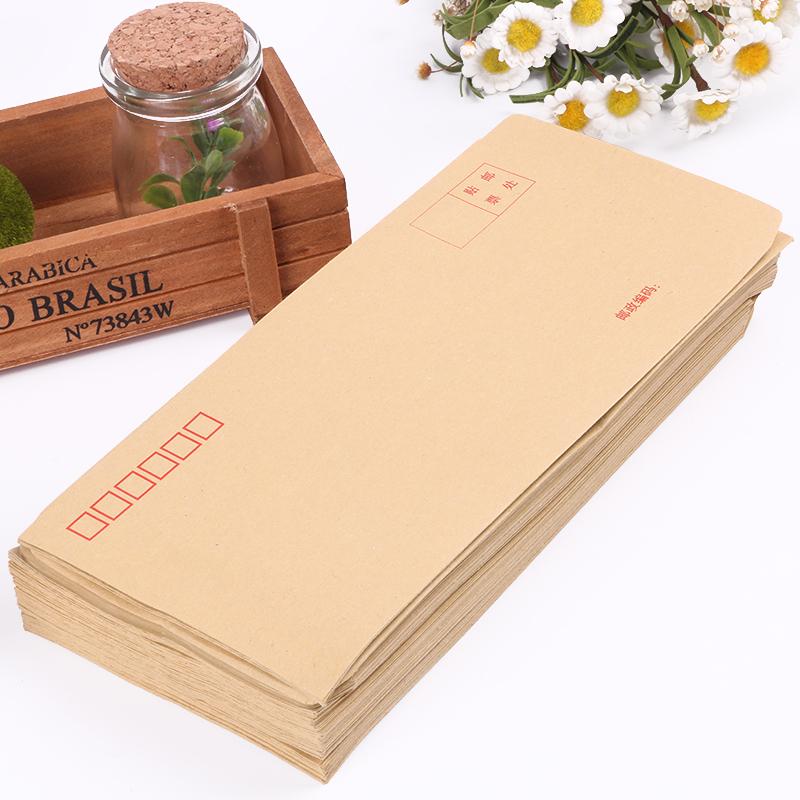 100 мешки наряд крафт конверт мешок 5 желтый средний плюс толстый конверт крафт можно сделать счет-фактура мешок