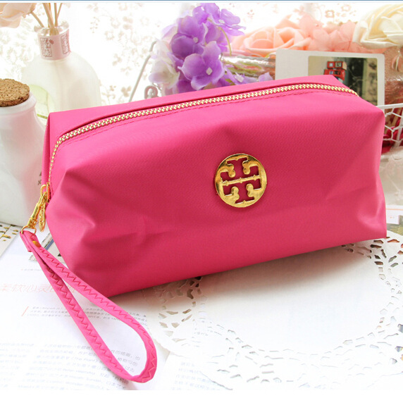 Korean large capacity portable cosmetic bag cosmetic storage bag lovely hand holding womens cosmetic bag dressing bag