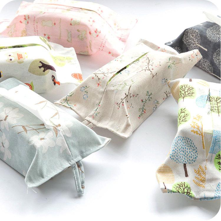 Небольшой призрак ткань бумажные полотенца крышка бумажные полотенца висит сумка насосные мешок льняная ткань бумажные полотенца мешок насосные коробка бумажные полотенца пакет ткань