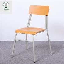 Pleasing Forest Staff Training Conference Chair student Guidance Remedial Stool school class chair canteen dormitory backrest chair
