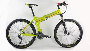 RH27速山地车 整车 超轻 可折叠自行车 自行车  单车  折叠车
