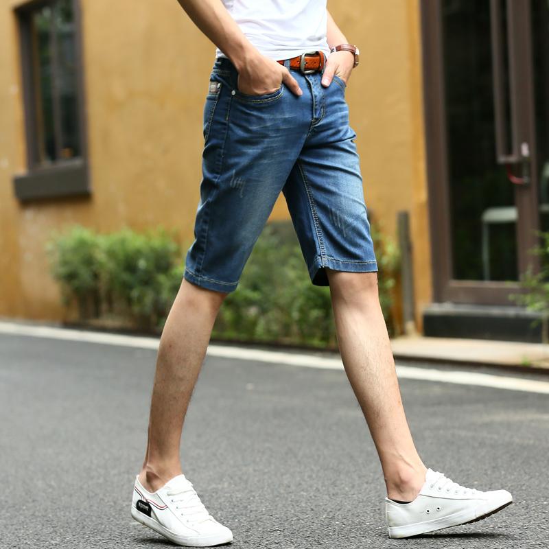 新成緣學生青年薄款中褲