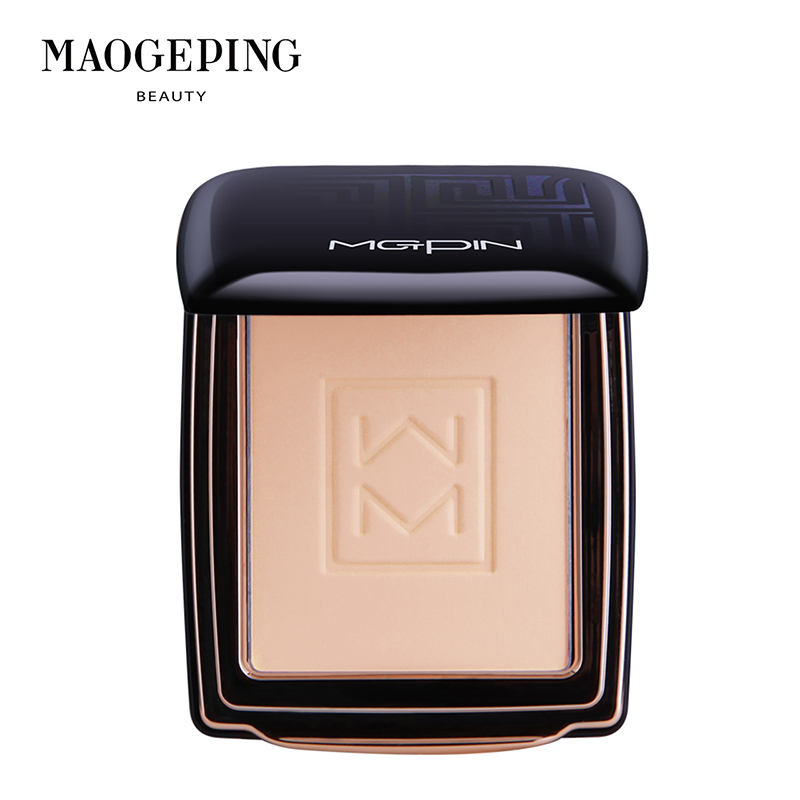 Mao Geping light and soft satin dual-purpose powder cake