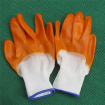Horticultural supplies Protective gloves vegetable flower Gloves labor Gloves dipping glue coated PVC Gluten Gloves