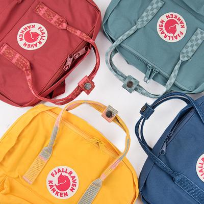 艺术款Fjallraven/瑞典北极狐Kanken Classic mini双肩背包书包
