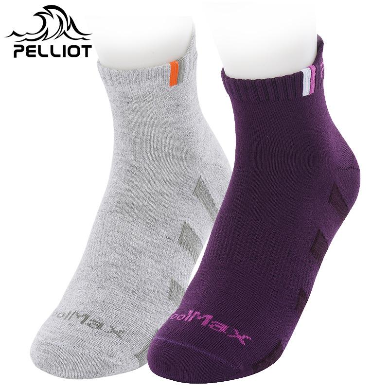 法國PELLIOT戶外登山徒步襪子 男女 襪排汗防滑耐磨透氣速幹襪