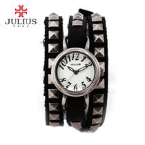 包邮Julius聚利时石英机芯手表时尚防水韩版女日韩腕表JA4553