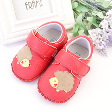 Toddler shoes 1-2-3-4 small children's shoes male totem in the spring and autumn Velcro baby 5-6-7 children sandals new tide.