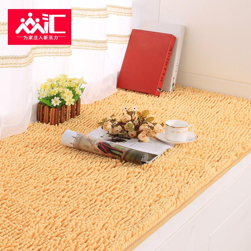 Модные плюш скольжение эркер подушка стандарт окно тайвань коврик сгущаться татами подушка балкон подушка