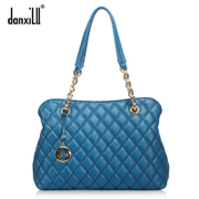 Danxilu women bag 2015 new European fashion Ling chain baodan women shoulder bags, leather ladies handbag