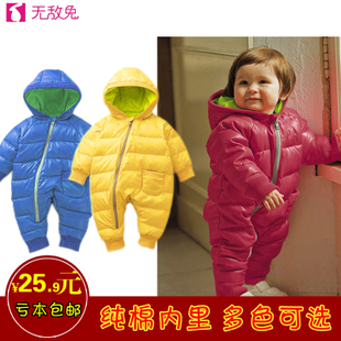 Infant clothing leotard quilted models for boys and girls long sleeved Romper climbing clothes newborn baby Spring Out