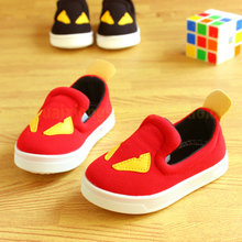 Little monsters han edition 2015 children sandals baby boys canvas shoes girl a pedal single shoes in the fall of 1-3 years old