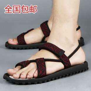 Authentic Vietnamese shoes trade thong sandals Korean men casual summer sports Rome beach shoes men's Sandals