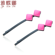 Ya na hairpin clip a clip female Korean hair accessories sweet square edge clip hairpin hair clip