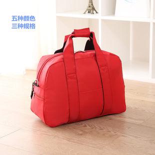 单肩无拉杆旅行包防水短途手提大容量旅游包袋健身男女学生行李包