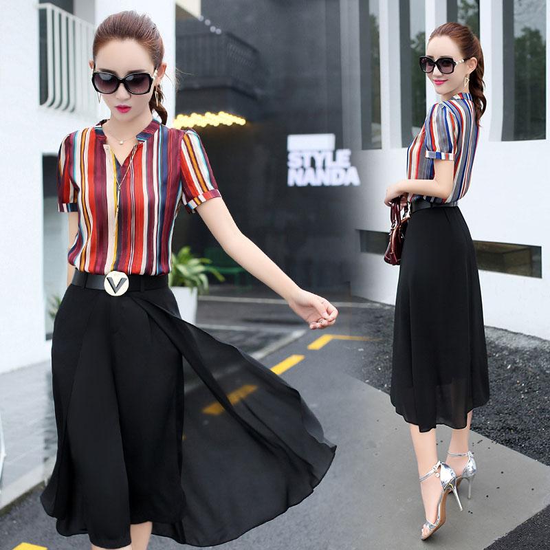 品牌18-25气质春夏季套装两件套专柜专卖店新款韩版春季女装春装