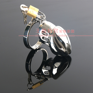 Metal Stainless Steel CB6000S male chastity lock device belt CB3000 anti masturbation ultra small cage