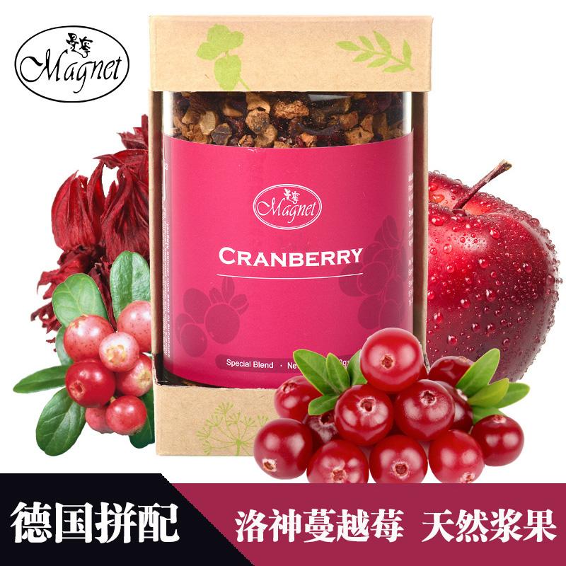 200g德国原装水果茶进口蔓越莓干果粒茶曼宁蔓越莓花果茶