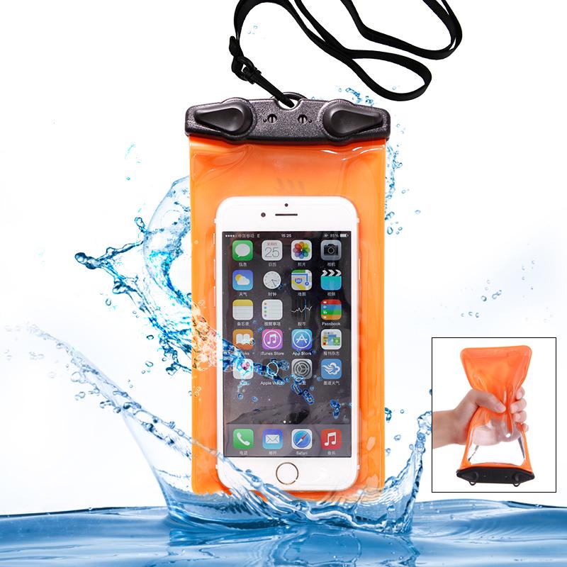 佑遊 觸屏手機防水袋海邊遊泳iphone 三星水下拍照防水套漂流袋