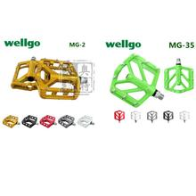 Wellgo magnesium 2 d grid - 2 mg mg - 35 y magnesium alloy bearing mountain bike pedal 35 anniversary edition