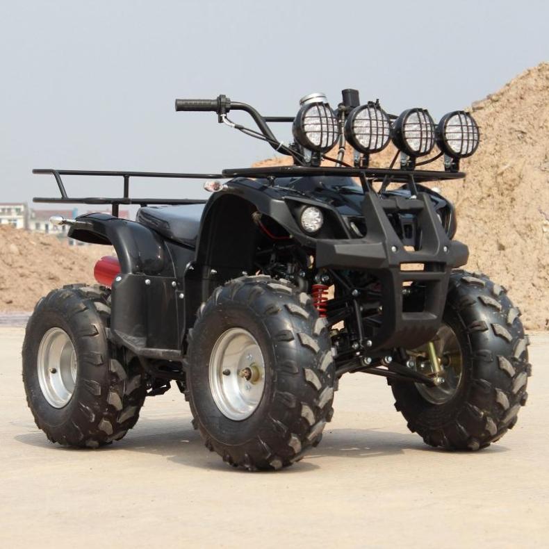 125CC轴传动小公牛沙滩车四轮摩托车 改装全地形越野车山地车沙漠