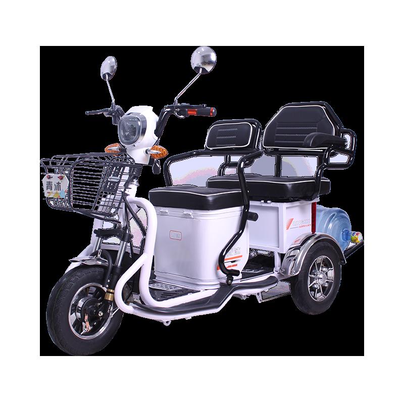 Электрический трехколесный велосипед. шаттл дети для взрослых пожилой старики домой женщина новый небольшой электро бутылка грузовик нагрузка король