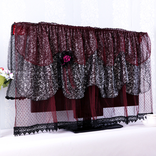 A Korean Fan children lightly lace LCD TV cover TV cover cloth dust cover television sets